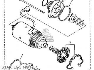 Yamaha FJ1200 1993 3XW8 SPAIN 233XW-352S1 parts lists and