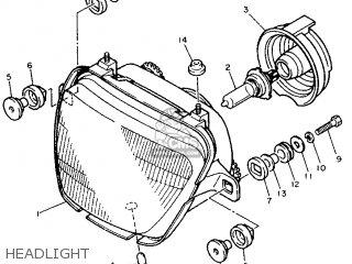 Yamaha Fj1200a 1992 3xw7 Europe 223xw-300ea parts list