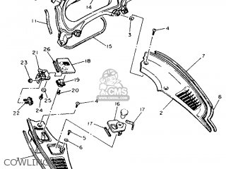Yamaha FJ1200A 1992 3YA4 GERMANY 223YA-332GA parts lists