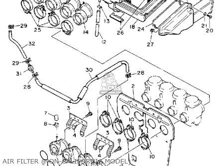 Yamaha Fj 1200 Engine Diagram Yamaha Seca 2 Street Fighter