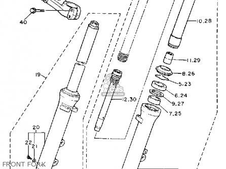 Yamaha Fj1200a 1993 (p) Usa parts list partsmanual partsfiche