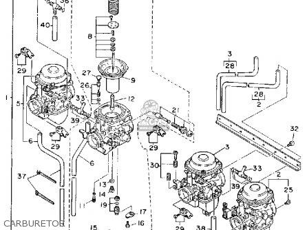 Yamaha Fj1200ad 1992 parts list partsmanual partsfiche