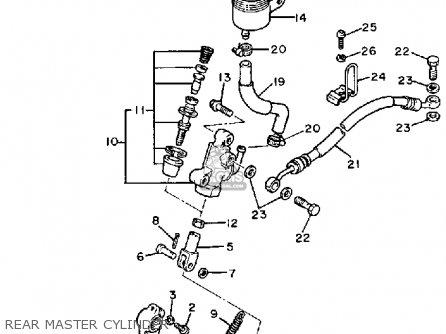 Yamaha FJ1200C 1987 CALIFORNIA parts lists and schematics
