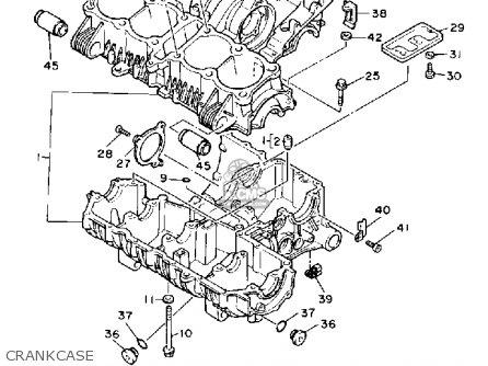 Yamaha Fj1200d 1992 parts list partsmanual partsfiche