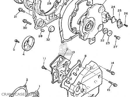 Yamaha Fj1200wc 1989 parts list partsmanual partsfiche
