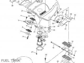 Yamaha FJR1300 2001 5JW1 DENMARK 115JW-300E4 parts lists