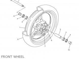 Yamaha FJR1300 2001 5JW1 ENGLAND 115JW-300E4 parts lists