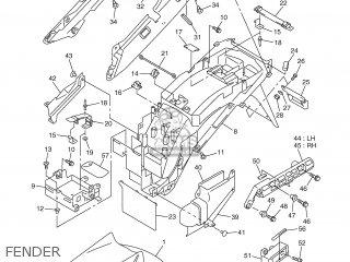 Yamaha FJR1300 2001 5JW1 GREECE 115JW-300E4 parts lists