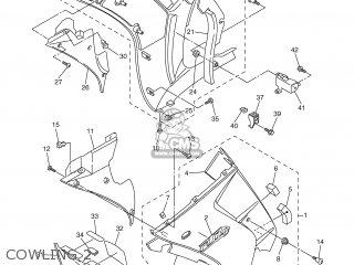 Yamaha Fjr1300 2001 5jw1 Holland 115jw-300e4 parts list