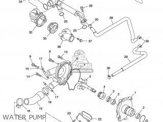 Yamaha FJR1300 2001 5JW1 SWEDEN 115JW-300E4 parts lists