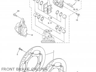 Yamaha FJR1300 2004 5JWG ENGLAND 1C5JW-300E1 parts lists