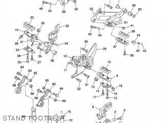 Yamaha Fjr1300 Fjr1300c 2003 (3) Usa California parts list