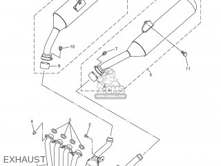 Yamaha FJR1300A 2005 5VSD ENGLAND 1D5VS-300E1 parts lists