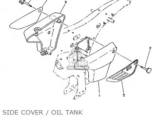 Yamaha FS1 1987 2RT BELGIUM 272RT-342E1 parts lists and