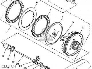 Yamaha Fs1-dx 1980 (type 3f5) (belgium) parts list