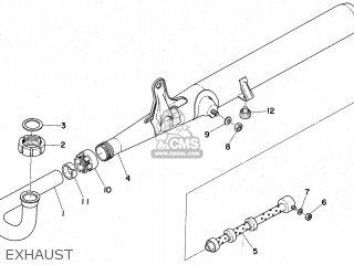 Yamaha FS1E 1974 ENGLAND TYPE 470 parts lists and schematics