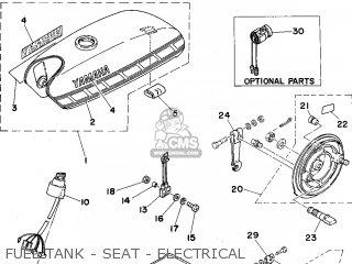 Yamaha Fs1e 1976 (type 394) (england) parts list