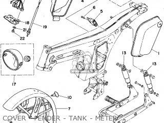 Yamaha Fs1e-dx 1975 (type 596) (england) parts list