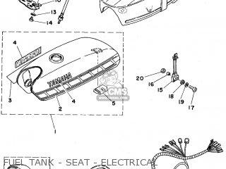Yamaha Fs1e-dx 1976 (type 596) (england) parts list