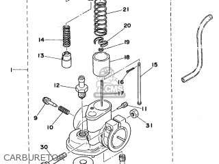 Yamaha FS1FS 1975 FRANCE TYPE 599 parts lists and schematics