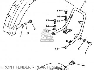 Yamaha Fs1se 1981 (type 5a2) (belgium) parts list
