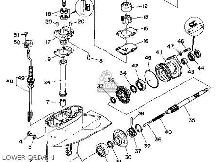 Yamaha Ft9.9 (e/er)d 1990 parts list partsmanual partsfiche
