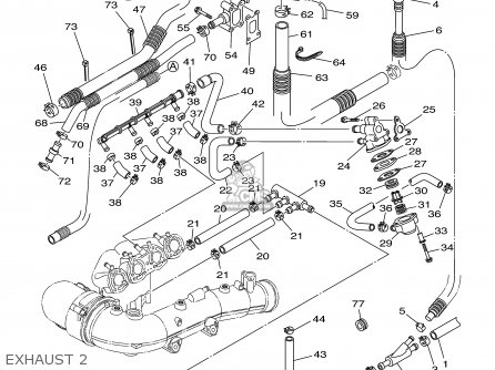 Yamaha Fx1000-b/c-b 2003 parts list partsmanual partsfiche
