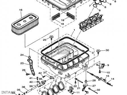 Yamaha Fx1000-b/c-b 2003 parts list partsmanual partsfiche