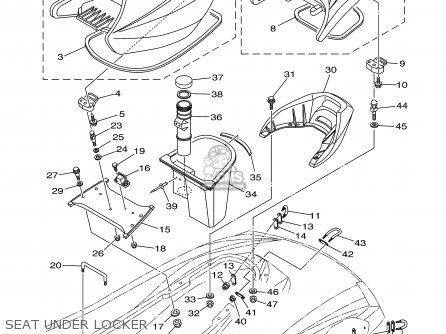 Yamaha FX1000-B/C-B 2003 USA parts lists and schematics