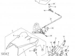Yamaha FZ1-N 2007 2D17 ENGLAND 1F2D1-300EA parts lists and