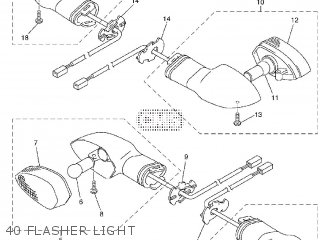 Yamaha FZ1-N 2012 1EC4 EUROPE 1L1EC-300E1 parts lists and