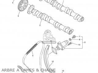 Yamaha FZ6-N 2005 1B33 EUROPE 1D1B3-351F1 parts lists and