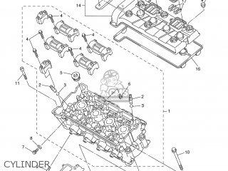 Yamaha FZ6-NHG 2007 5S51 GREECE 1F5S5-300E1 parts lists