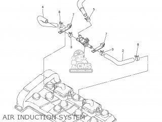 Yamaha FZ6-S 2004 5VX1 GERMANY 1C5VX-332G1 parts lists and