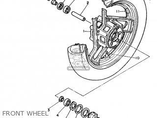 Yamaha FZ600 1986 2HW EUROPE 262HW-300E1 parts lists and