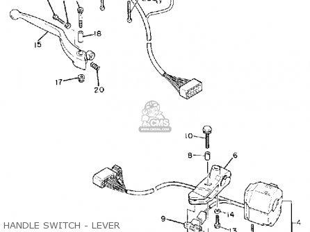 Yamaha Fz600 Fazer 1988 (j) Usa parts list partsmanual