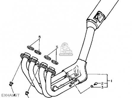 Yamaha FZ700 GENESIS 1987 (H) USA parts lists and schematics