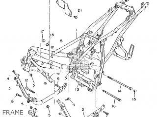 Yamaha FZ750 1986 1TV FRANCE 261TV-351F1 parts lists and