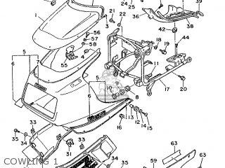 Yamaha Fz750 1986 1tv Germany 261tv-332g2 parts list
