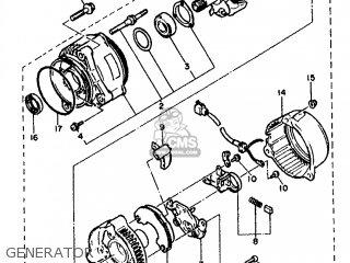 Yamaha Fz750 1987 2mg France 272mg-351f1 parts list