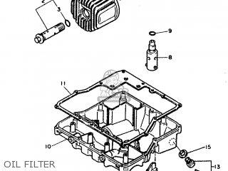 Yamaha FZ750 1987 2MG FRANCE 272MG-351F1 parts lists and