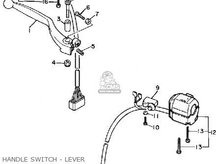 Yamaha Fz750 Genesis 1985 (f) Usa parts list partsmanual