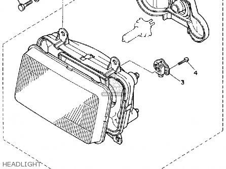 Yamaha FZ750 GENESIS 1985 (F) USA parts lists and schematics