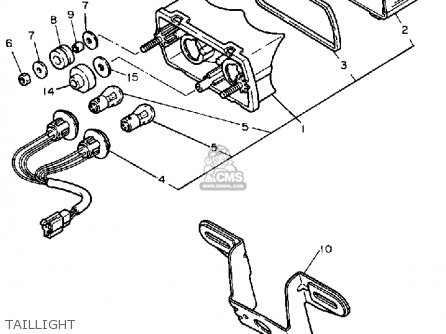 Yamaha Fz750 Genesis 1988 (j) Usa parts list partsmanual