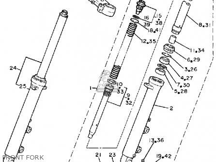Yamaha FZ750C GENESIS 1988 (J) CALIFORNIA parts lists and