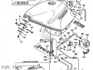 Yamaha FZR1000 1987 2GH EUROPE 272GH-300E2 parts lists and