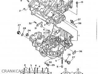 Yamaha FZR1000 1987 2LA GERMANY 272LA-332G3 parts lists