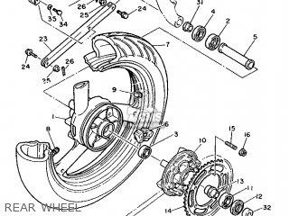 Yamaha FZR1000 1987 2LE FRANCE 272LE-351F3 parts lists and