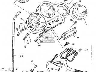 Yamaha FZR1000 1987 2RG ENGLAND 272RG-310E2 parts lists