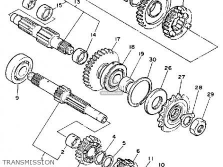 Yamaha FZR1000 1987 GENESIS USA parts lists and schematics
